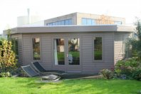 AK5 Tuinhuis Atelier 750-540x400cm dubbelwandig houtskeletbouw rabat