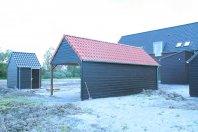 SP22-Garage-en-Berging-enkelwandig-houtskelet-(eternit-sidings)
