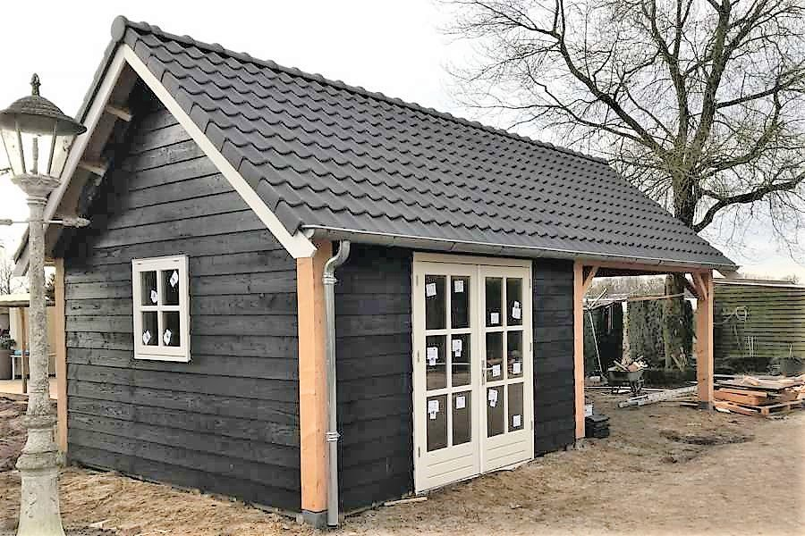 Spiksplinternieuw Tuinhuis op maat laten bouwen - BOHA Systeembouw B.V. VC-56