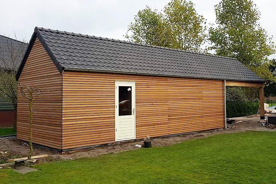 Garage Met Overkapping : Een garage laten bouwen? boha systeembouw b.v.